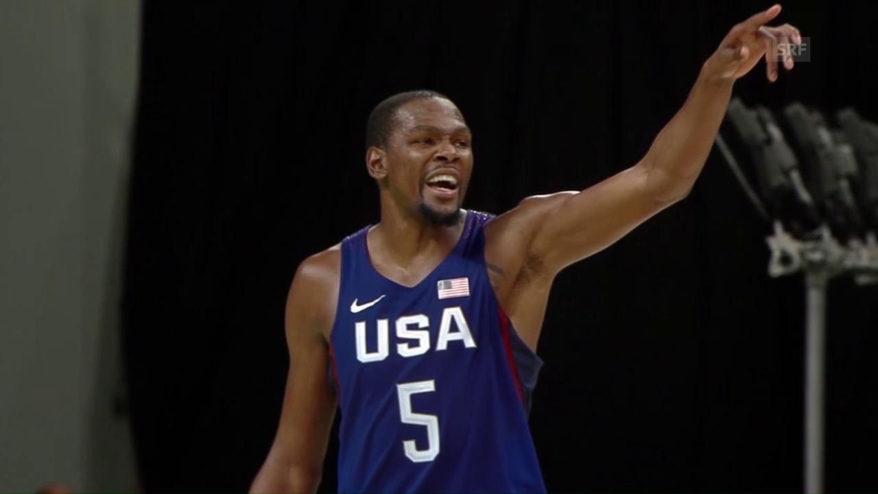 USA und Serbien im Basketball-Final der Männer