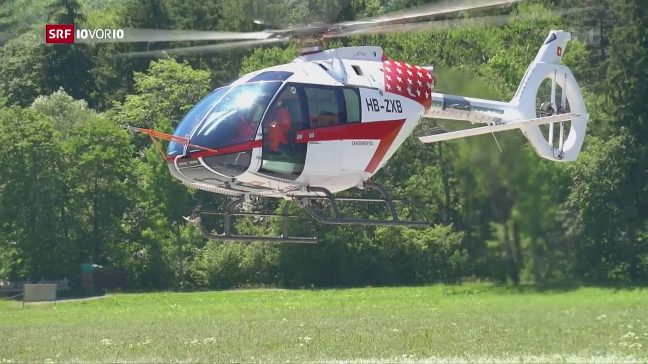 Marnenco-Helikopter «made in Switzerland»