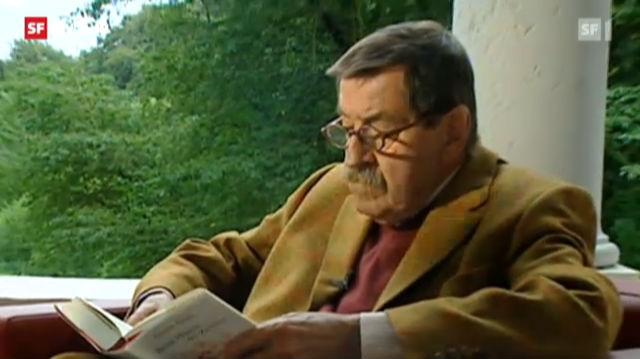 Günter Grass über «Was gesagt werden muss» (2012)