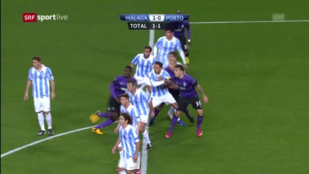 Video «Fussball: Malaga - Porto («sportlive»)» abspielen