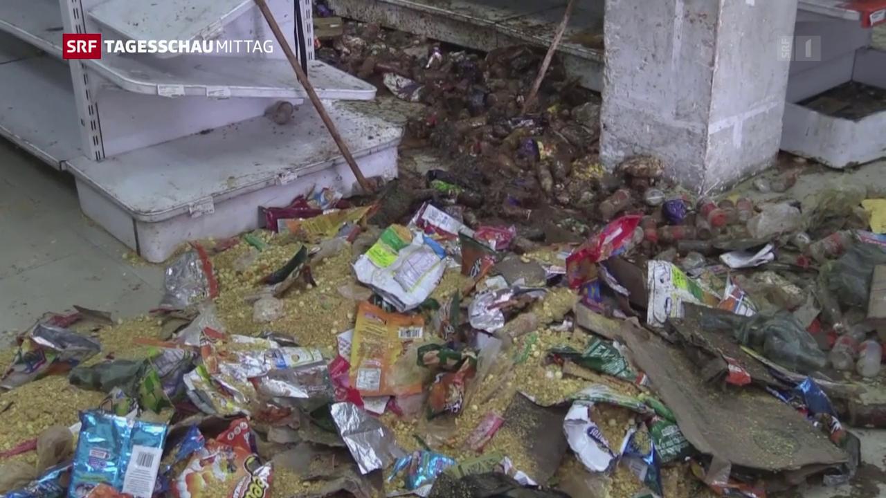Plünderungen in Caracas