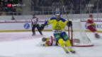 Video «HCD schaltet Biel aus und steht im Cupfinal» abspielen