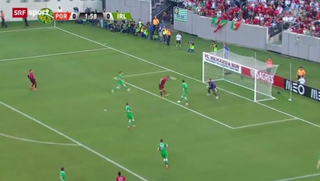 Video «Fussball: Testspiel Portugal - Irland» abspielen