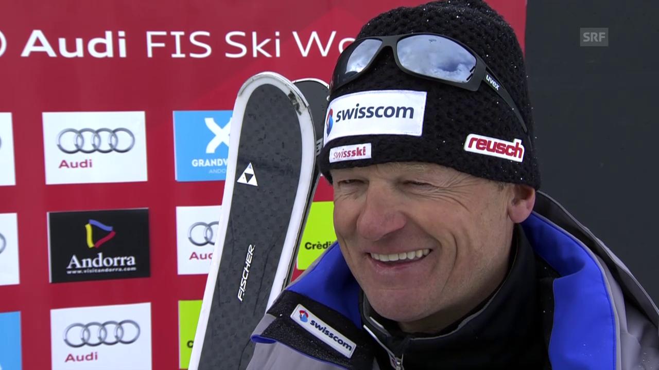Hans Flatscher über Wendy Holdener