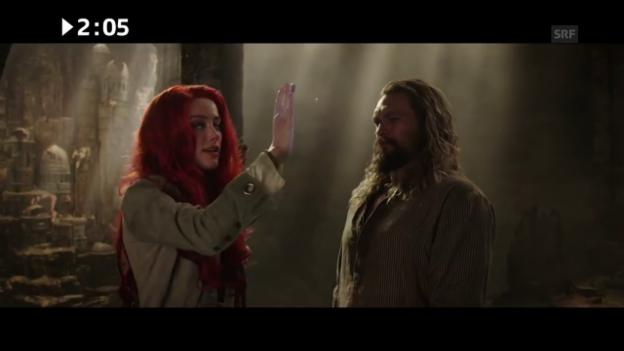 Video «Kinostart: «Aquaman»» abspielen