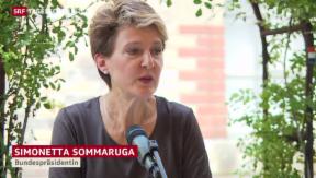 Video «Spaziergang mit Sommaruga» abspielen