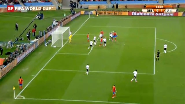 WM 2010: Deutschland - Spanien