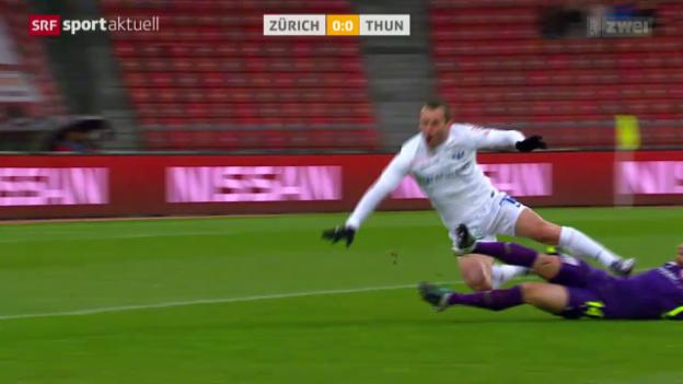 Video «Zürich kann zuhause auch gegen Thun nicht gewinnen» abspielen