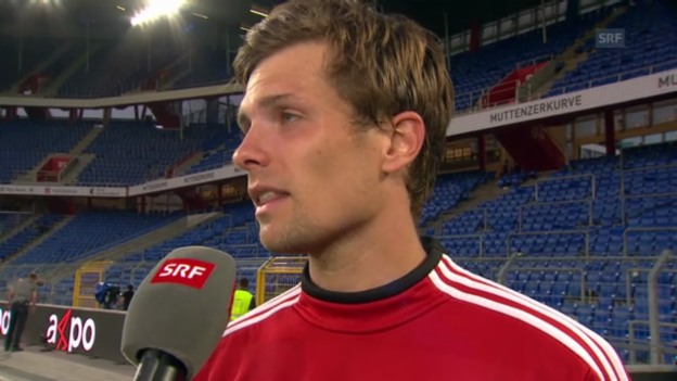 Video «Interview mit Valentin Stocker» abspielen