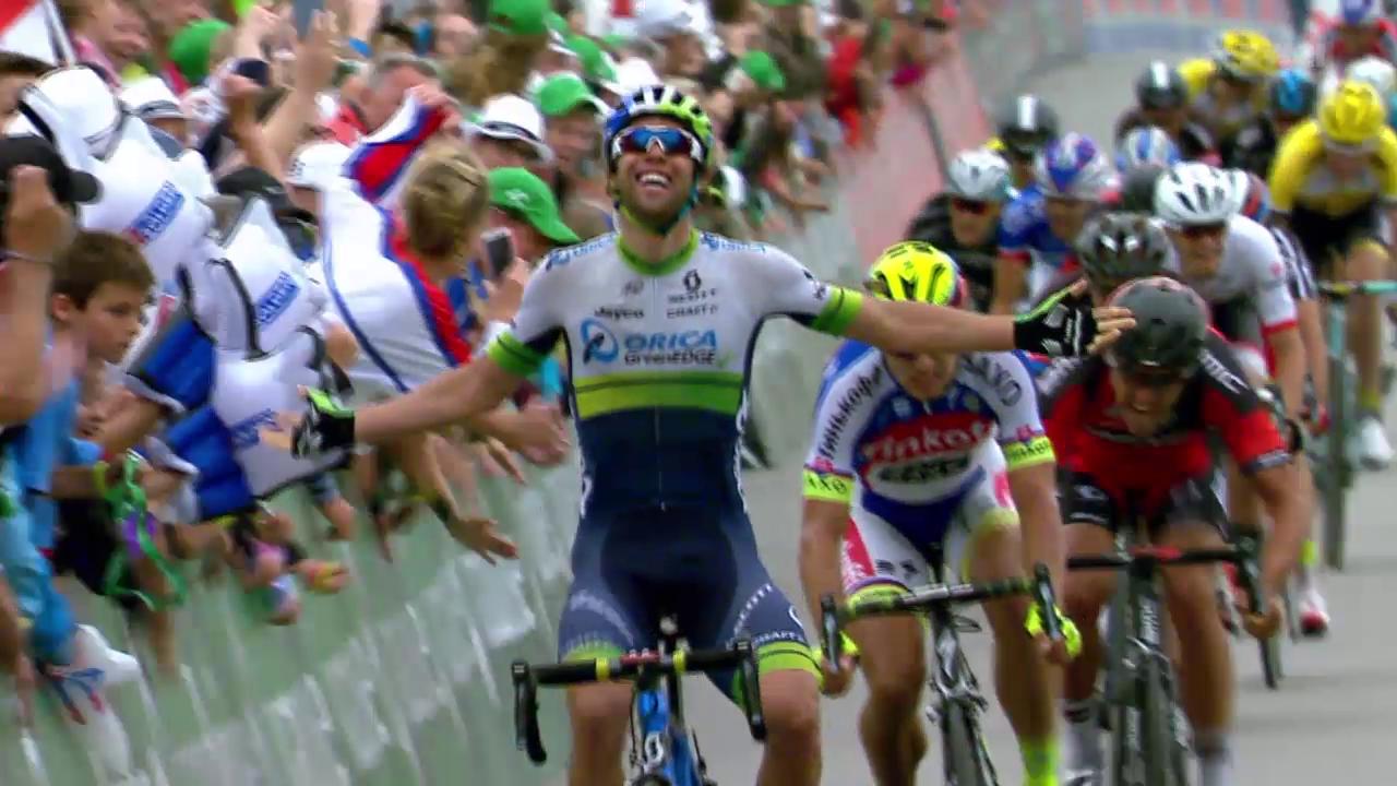Rad: 4. Etappe der Tour de Suisse