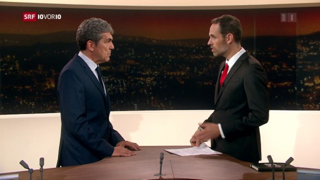 Video «Im Studio: Stefan Ritler, Bundesamt für Sozialversicherungen» abspielen