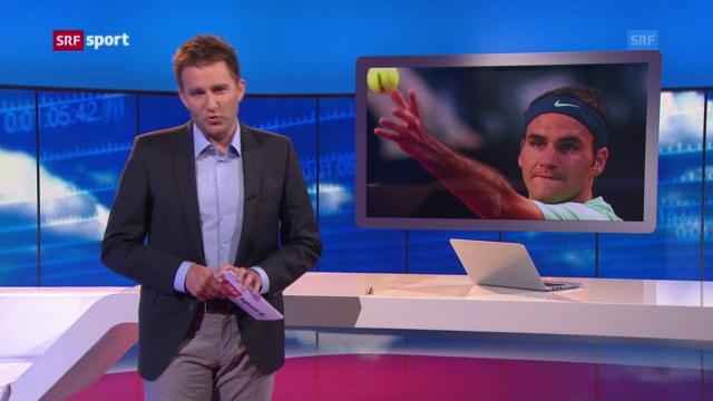 Federer tritt in Hamburg an («sportaktuell»)