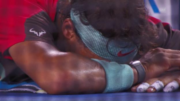 Video «Nadal und das Leiden an den Australian Open» abspielen