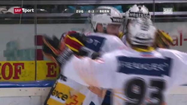 Video «NLA: Zug - Bern» abspielen