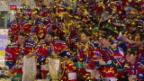 Video «Entfesselte Lakers schlagen Davos im Cupfinal» abspielen