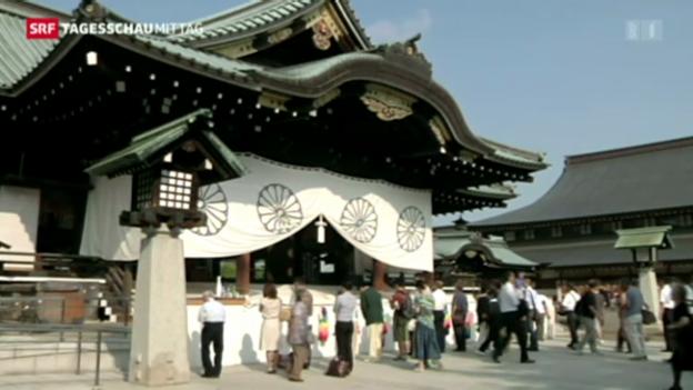 Video «Japans Gedenken an Tote stört Nachbarländer» abspielen