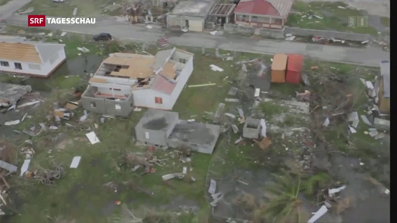 Zerstörung in der Karibik