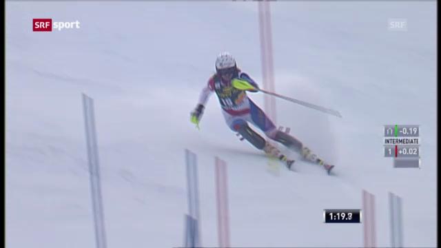 Ski: Slalom Frauen in Maribor («sportpanorama»)