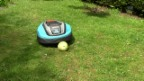 Video «Rasenmäh-Roboter im Crashtest: Der grosse Igel» abspielen