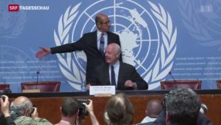 Video «Neue Verhandlungen im Syrienkonflikt» abspielen