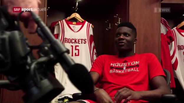 Video «Clint Capela macht sich in Houston einen Namen» abspielen