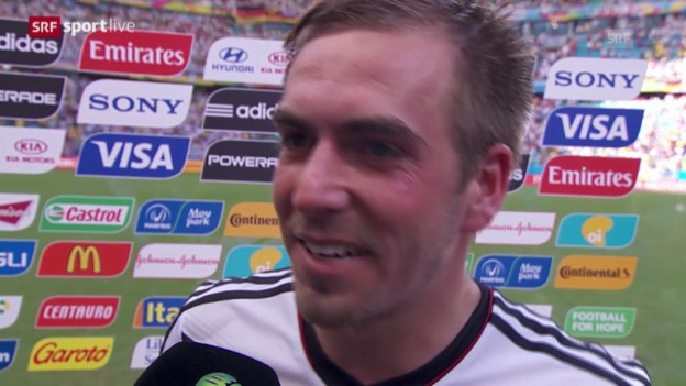 Video «Interview mit Philipp Lahm» abspielen
