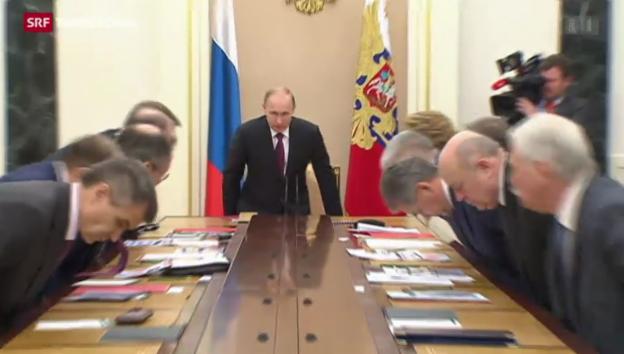 Video «Russland passt Militärdoktrin an» abspielen