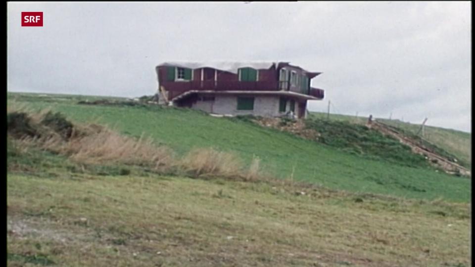 Aus dem Archiv: Tornado im Vallée de Joux (Tagesschau 26.8.71, ohne Ton)