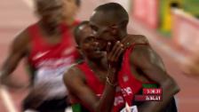 Video «Leichtathletik: WM 2015 in Peking, 1500 m der Männer» abspielen