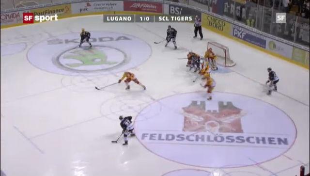 NLA: Lugano - SCL Tigers
