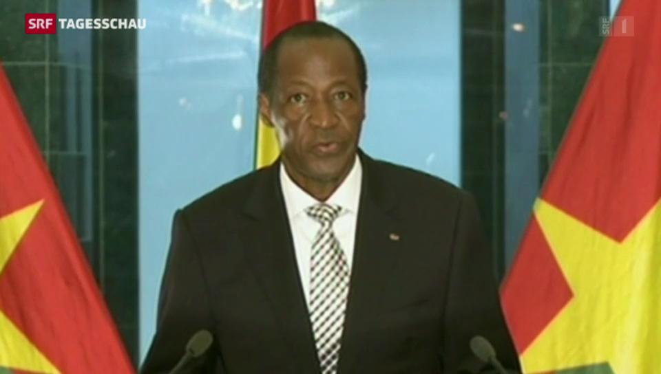 Präsident Compaoré tritt ab