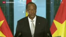 Video «Präsident Compaoré tritt ab» abspielen