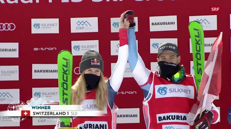 Smith/Lenherr gewinnen Mixed-Team-Premiere
