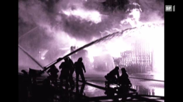 Video «Als die Schweiz den Atem anhielt: Der Brand von Schweizerhalle» abspielen