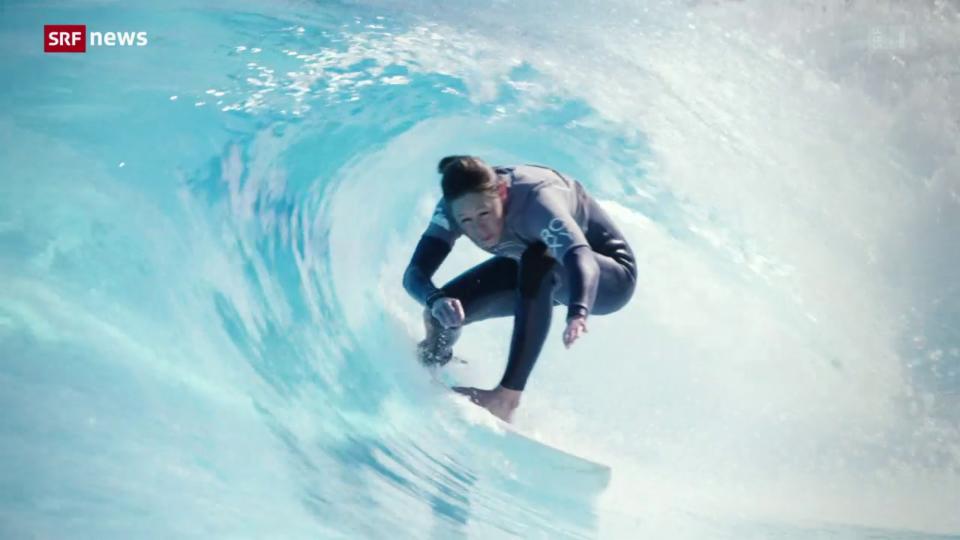 «10 vor 10»-Serie Olympia: Teil 3 –  Surfen
