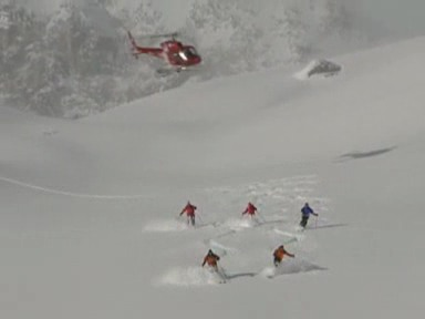 Video «Heliskiing: Der Kampf der Air Zermatt» abspielen