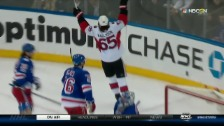 Video «From Coast to Coast: Karlsson erzielt das 3:1 für Ottawa» abspielen