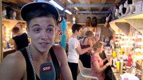 Video «Superstar mit Lampenfieber: Luca Hänni» abspielen