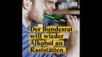 Video «Trinken wir bald wieder Alkohol an Raststätten?» abspielen