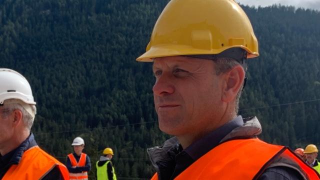 Daniel Albertin, wer entscheidet, dass Brienz evakuiert wird?