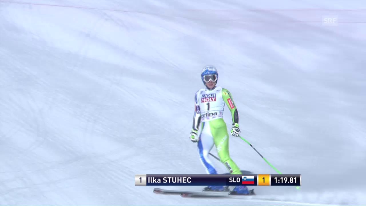 1. Super-G-Sieg: Stuhec rast in Cortina zum Erfolg