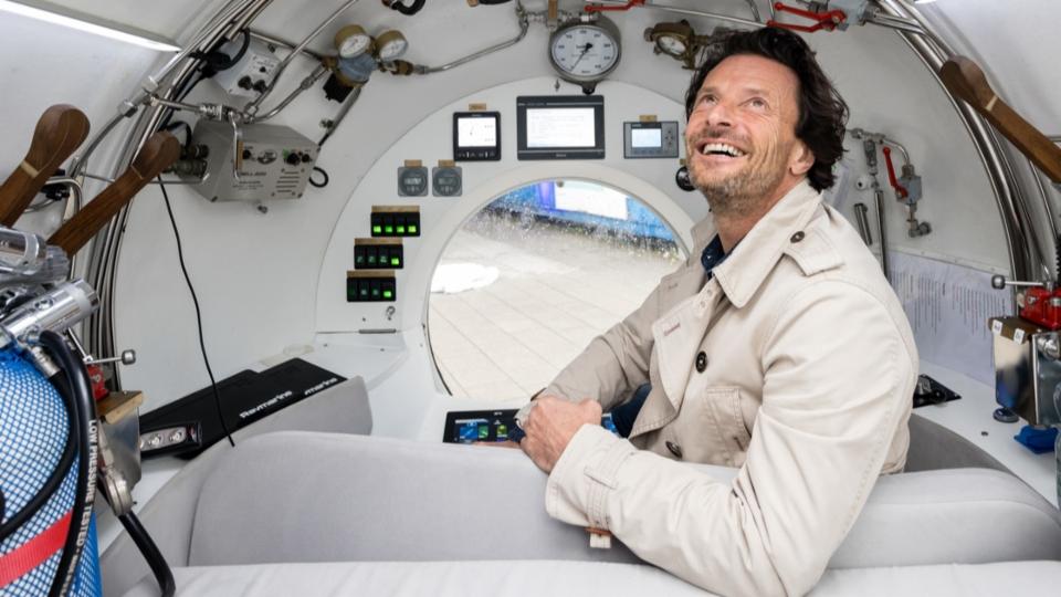 U-Boot-Unternehmer Philippe Epelbaum: «Schweizer Seen haben unter Wasser einiges zu bieten.»