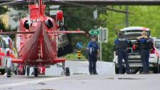Link öffnet eine Lightbox. Video Polizeieinsatz in Schaffhausen abspielen