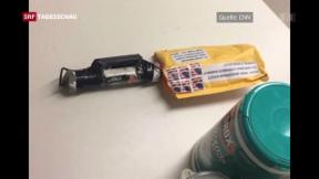 Video «Trump gibt Medien Mitschuld für Paketbomben» abspielen