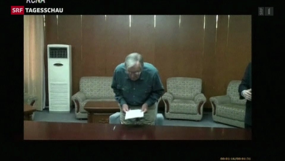 Nordkorea zeigt Video von US-Veteran