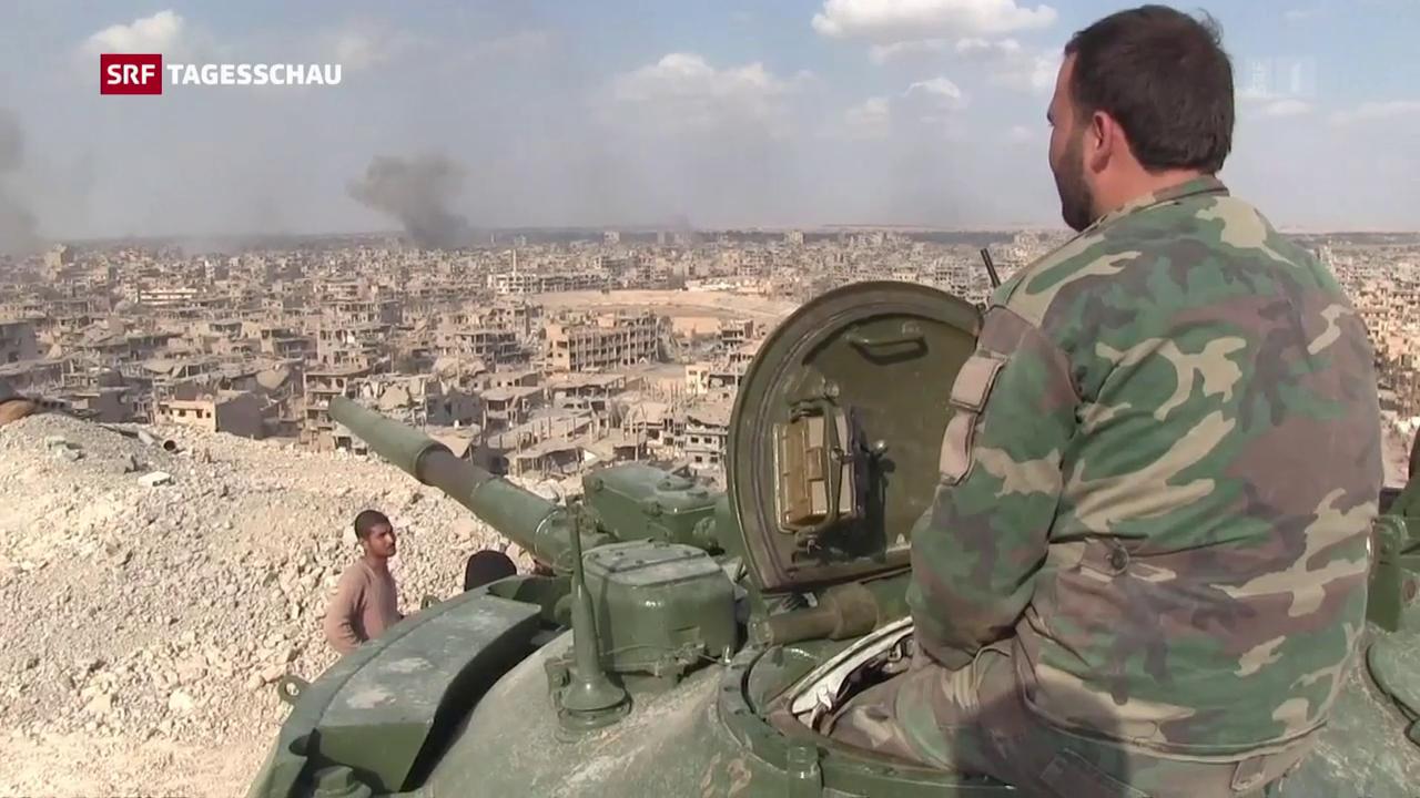Syrische Regierungstruppen erobern Deir Essor zurück