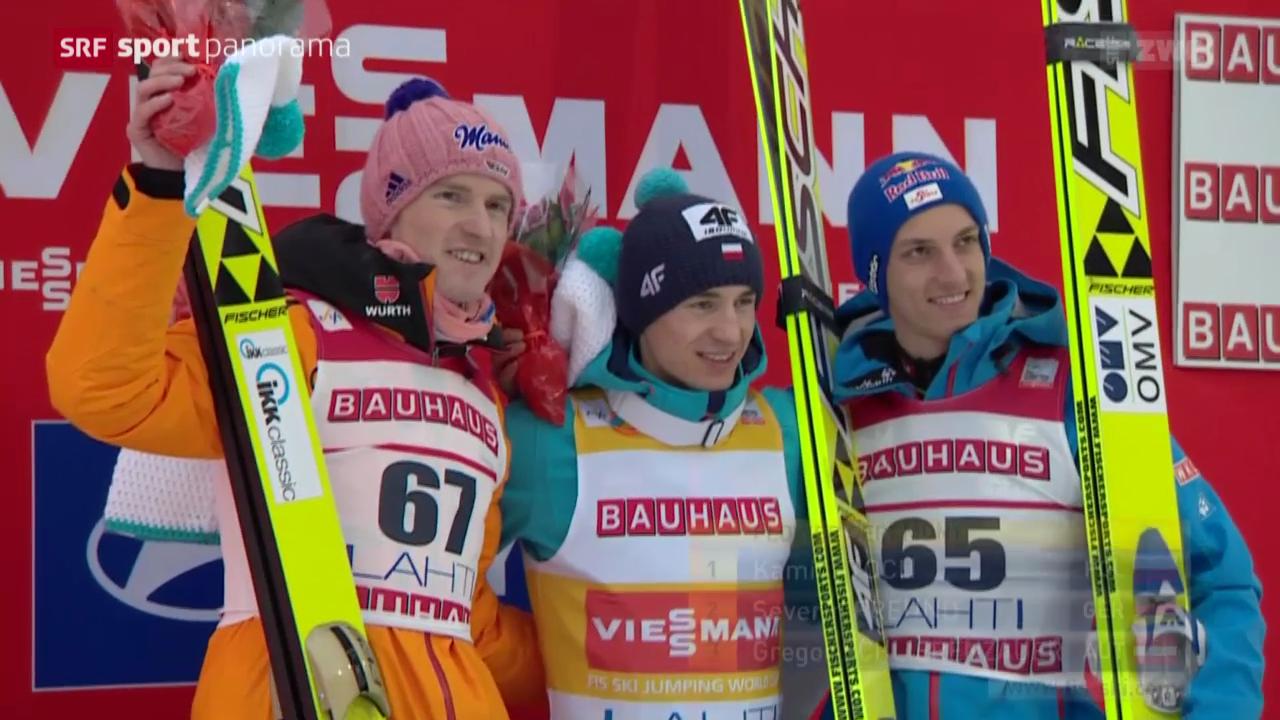 Skispringen: Weltcup in Lahti