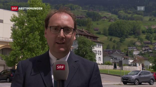 Video «SRF- Korrespondent: «Nur etwa 1000 Stimmen haben zum Nein geführt»» abspielen