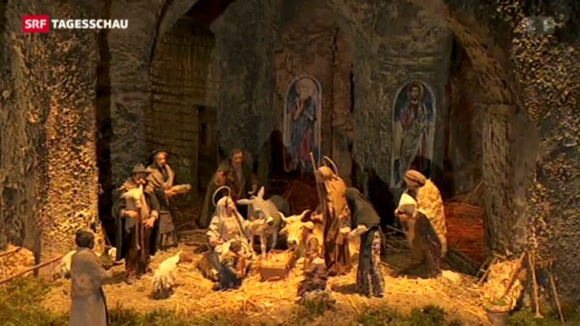 Weihnachtsfeier in Rom