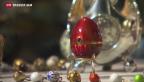 Video «Liechtenstein präsentiert prunkvolle Ostereier» abspielen